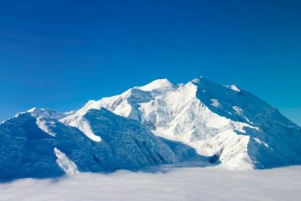 Der Mount Mckinley in Alaska
