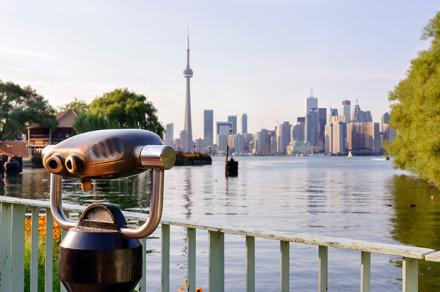 Die schöne Skyline von Toronto bestaunen