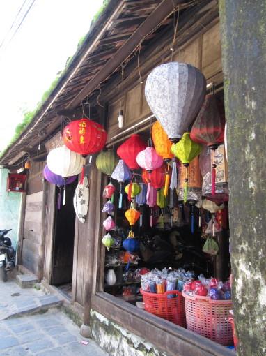 Seidenlaternen-Shop in Hoi An
