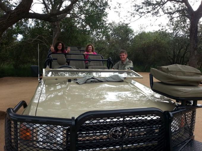 Auf Safari in Kapama