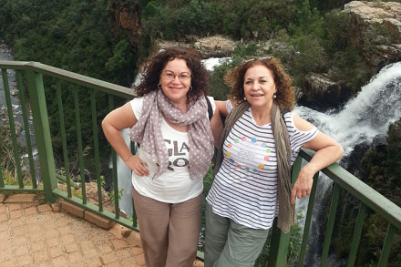 Die Beide Geschwister an den Lissabon Falls, Panorama