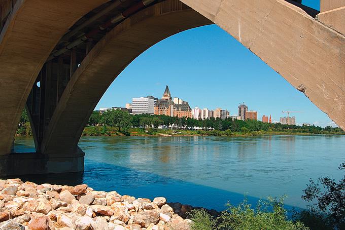 Saskatoon: Die Stadt der Brücken