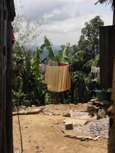 Der Alltag vieler Frauen: Waschtag