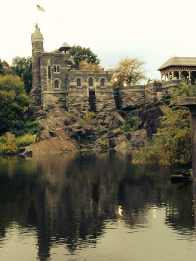 Belvedere Castle vor Turtle Pond
