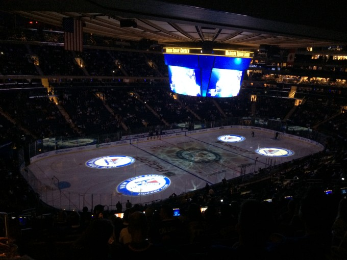 «Let's go Rangers!» im Madison Square Garden