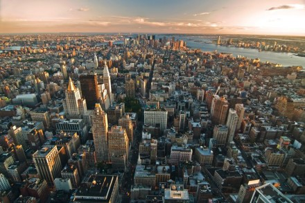 New Yorks atemberaubende Skyline