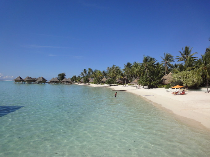 Matira Strand Bora Bora