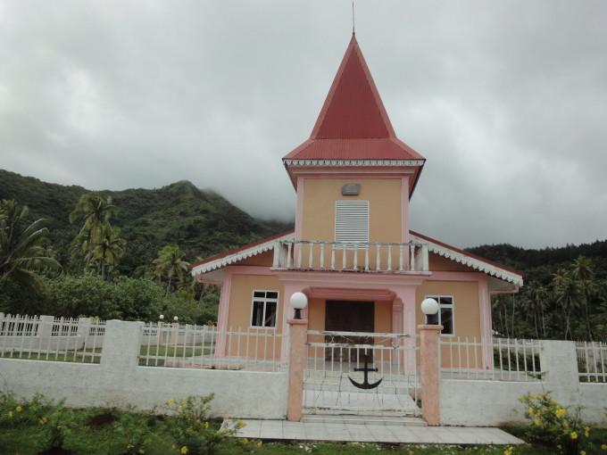 Dorfkirche auf Raiatea