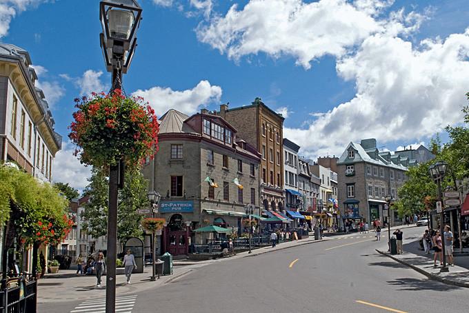 Québec, la charmante vieille ville