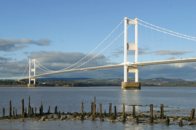 Die Severn Bridge