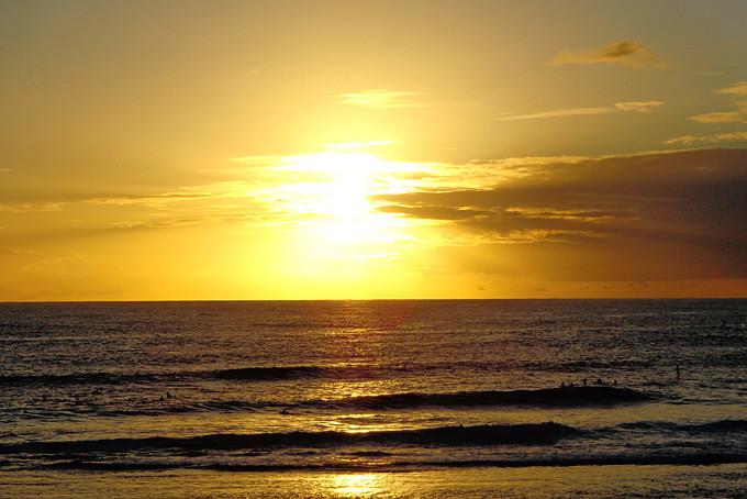 Sonnenuntergang Yallingup Beach