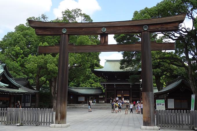 Der Meiji Schrein in Tokyo