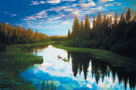 Le magnifique parc national de Prince Albert