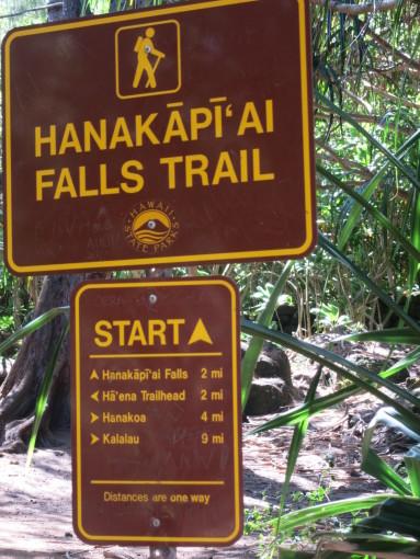 Hanakapiai Falls Trailhead