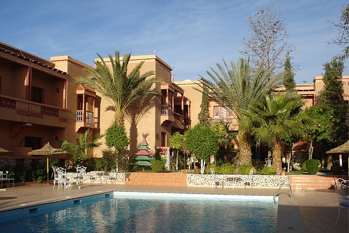 Das Hotel Fint in Ouarzazate