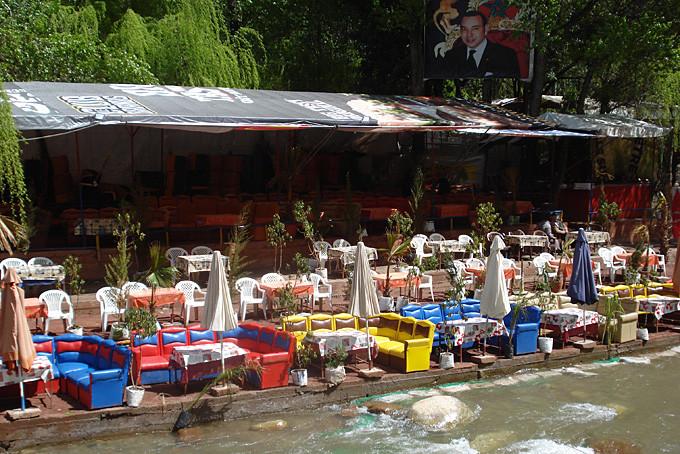 Ourikatal - beliebtes Ausflugsziel