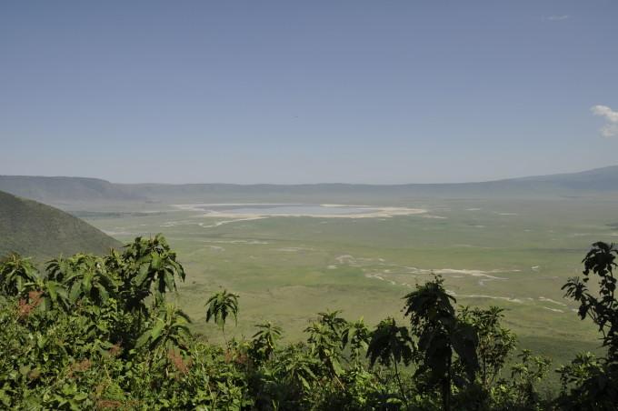 Der Ngorongoro Krater in Tansania
