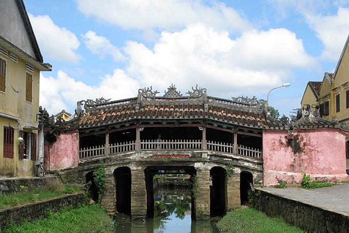 Japanische Brücke in Hôi An