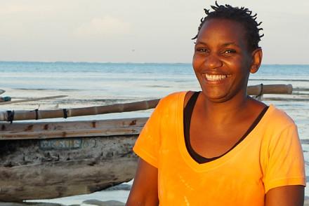 Jamilah Kabelele Inhaberin des Art Hotel Zanzibar
