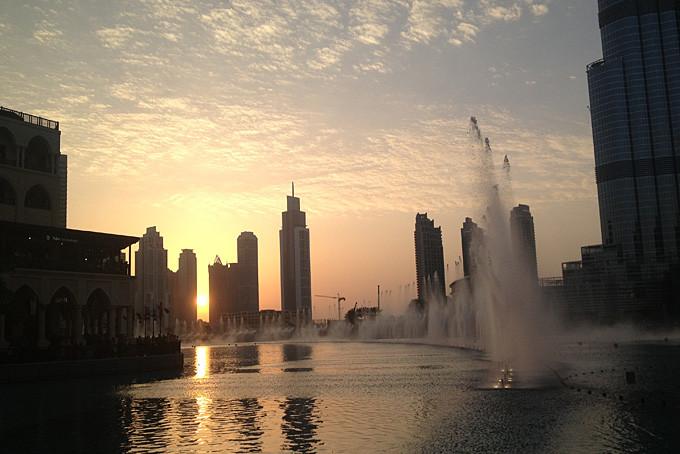 Show des fontaines - Burj Khalifa