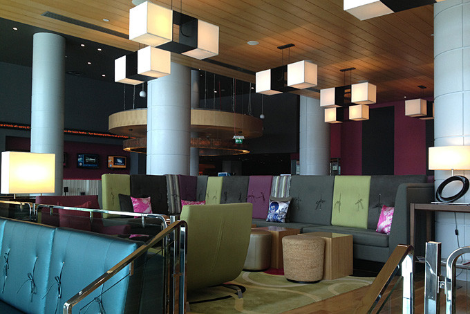 Bar de l'hôtel Aloft