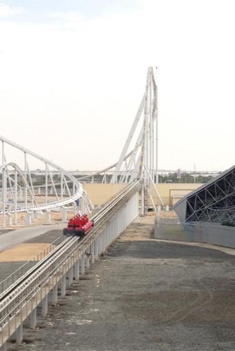 Le grand frisson - Roller Coster le plus rapide du monde