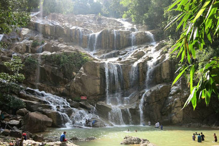 Wasserfall nahe Kuantan