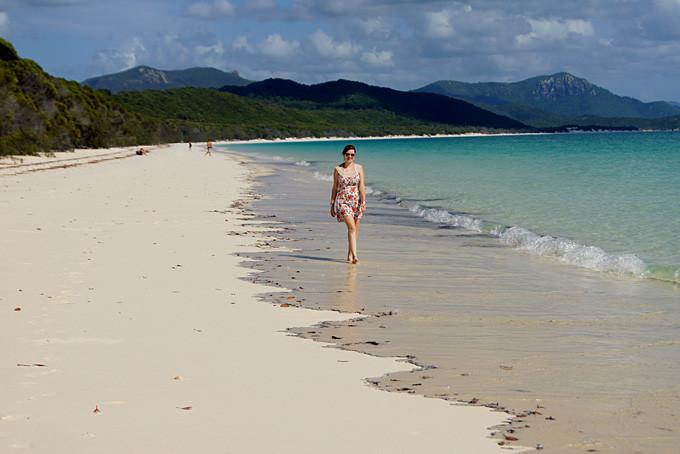 Sandrina am Whitehaven Beach