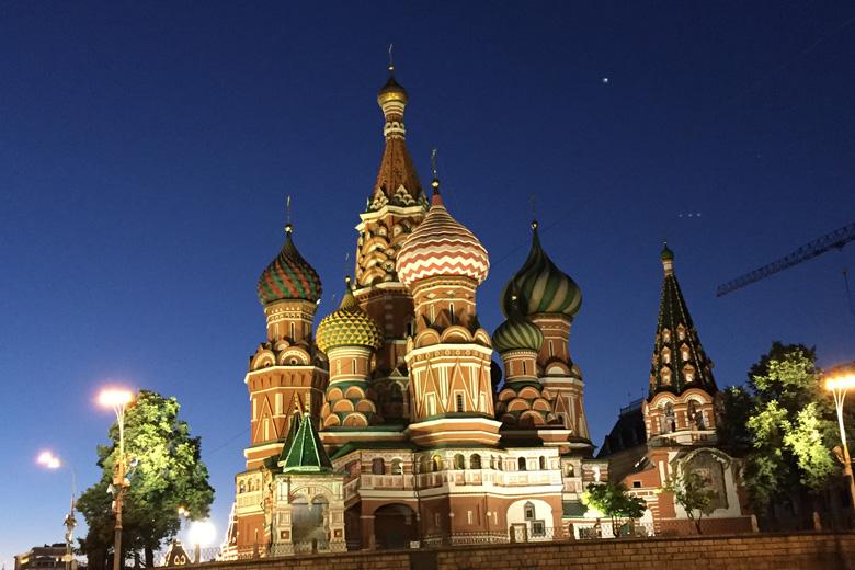 St. Petersburg und Moskau