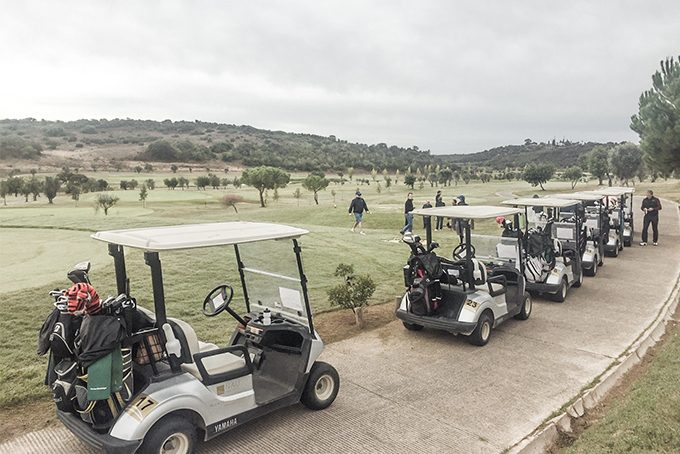 Golfcarts in Morgado