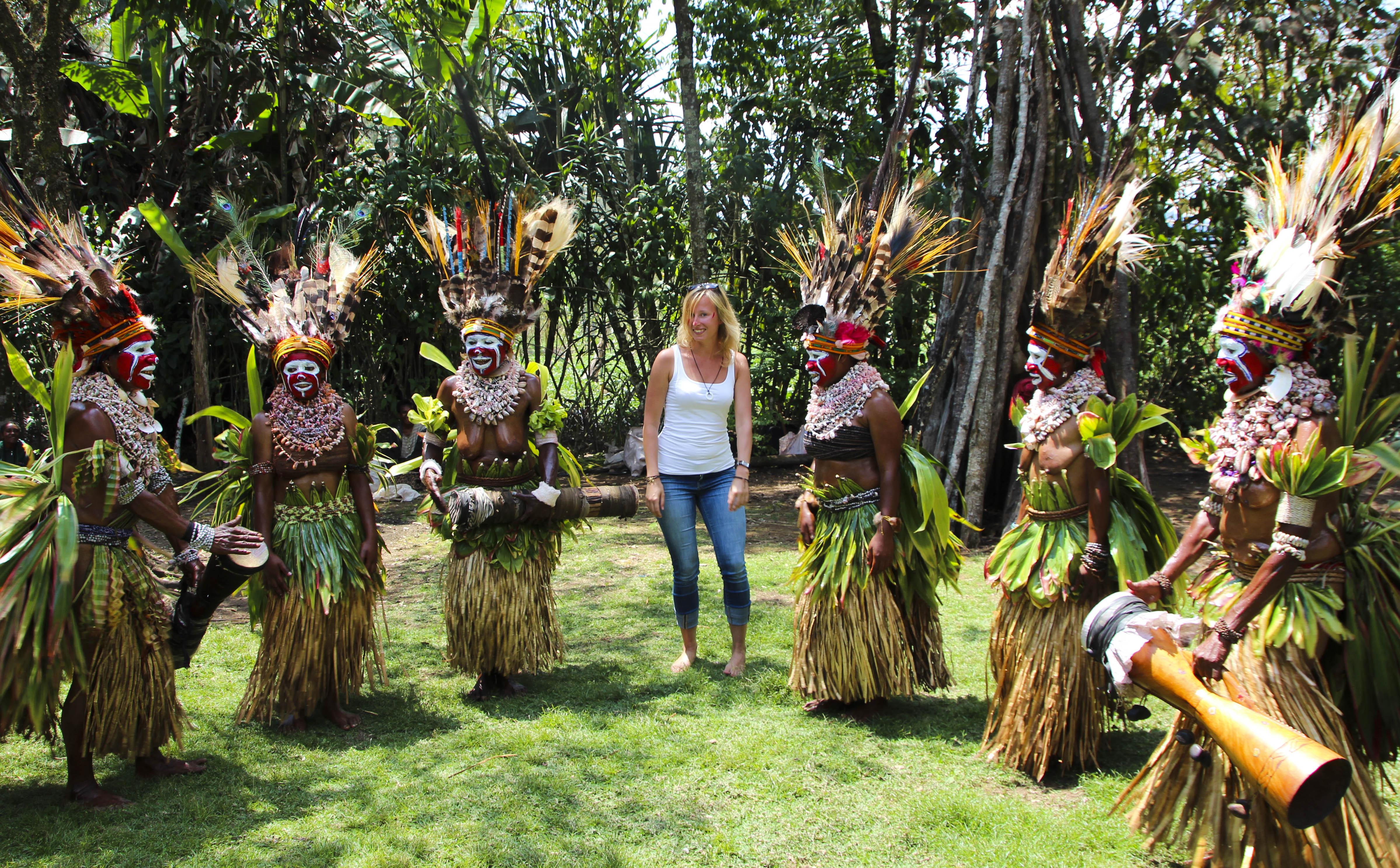 Stella Dielhenn in Papua-Neuguinea