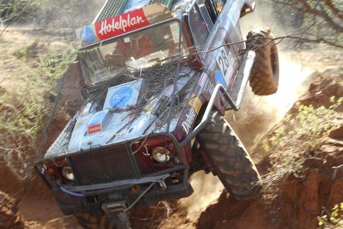 «Fahrzeug der Charge 2011, damals gewann das Team in der Klasse «unmodifizierte Fahrzeuge».
