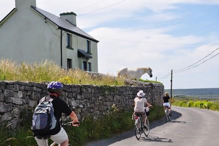 Mit dem Fahrrad um Inishmore
