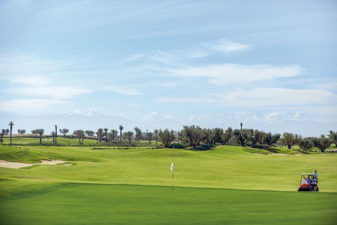 Marrakech, de ville déserte à Mecque des golfeurs