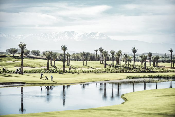 Golfplatz im Fairmont Royal Palm, Marrakesch
