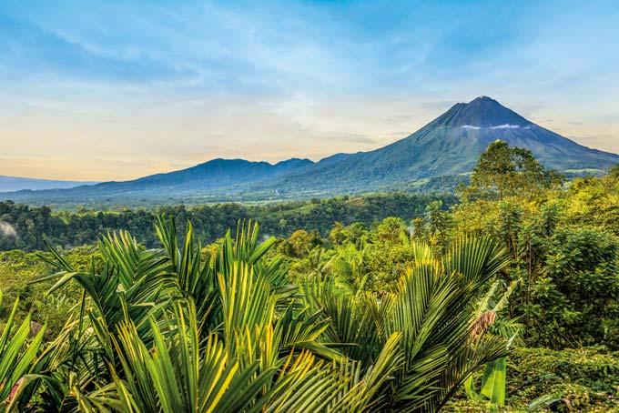 Le verdoyant pays des merveilles d'Amérique Centrale