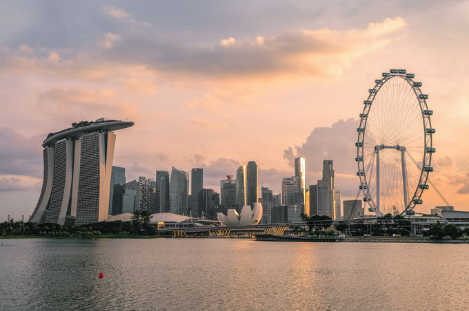 Singapur By Night: un lieu de rencontre branché