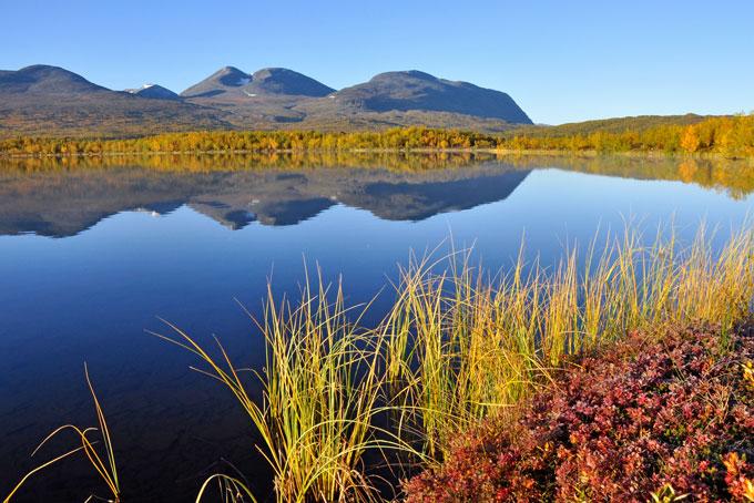 Entschleunigte Bekanntschaft mit Lappland und helle Sommernächte