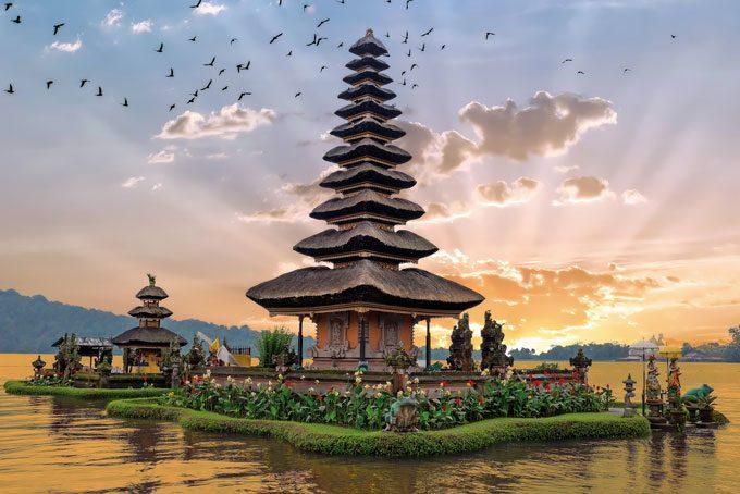 Ulun Danu Temple Beratan, Bali