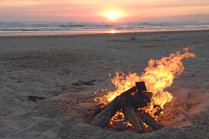 Bonfire, Pismo Beach