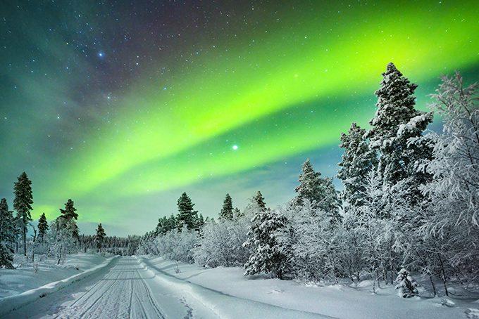 Das Nordlicht, auch Aurora Borealis genannt