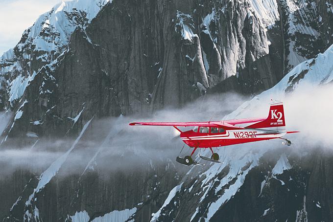 Alaska – Vol jusqu'au mont McKinley
