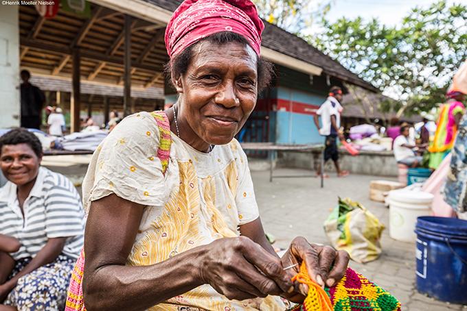 Marktbesuch in Papua-Neuguinea