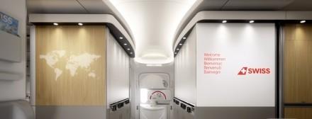 Eingang der Boeing 777-300