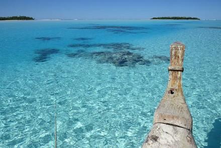 Schnorcheln in der Aitutaki Lagoon