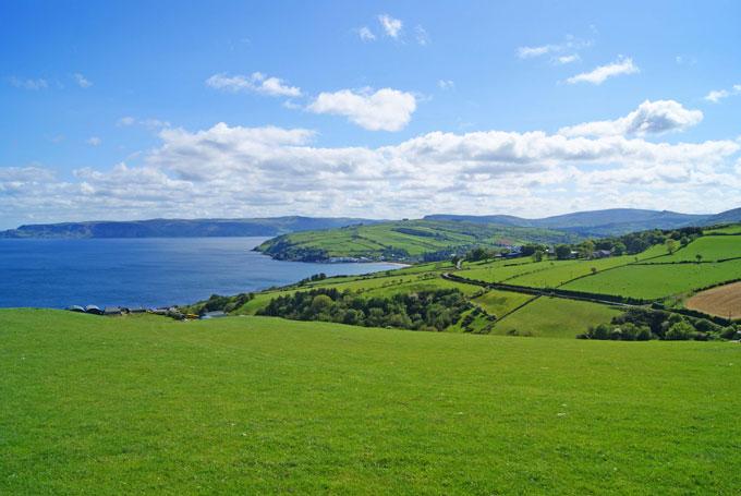 Natur pur im Norden der grünen Insel