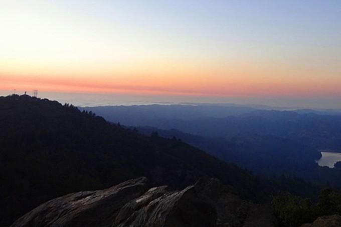 Traumhafte Aussicht vom Mt. Tam aus