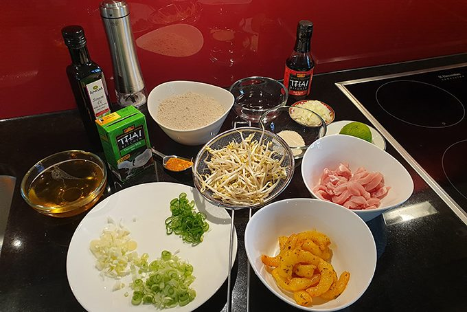 Banh Xeo - Mise en Place