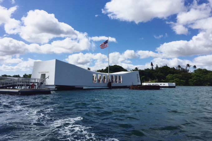 Pearl Harbour Memorial, Oahu