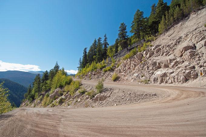Heckman-Pass beim Tweedsmuir Provincial Park